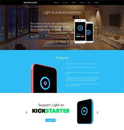 Crowdfunding App WordPress Theme