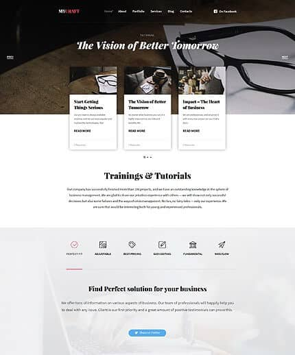 Educational Responsive WordPress Theme