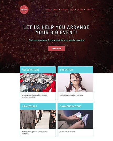 Big Event WordPress Theme