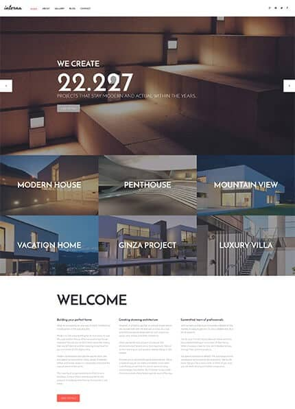 Architectural Co WordPress Theme