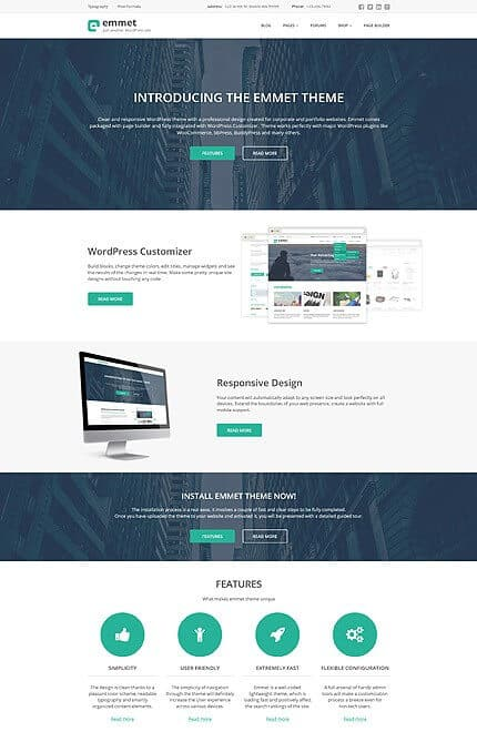 Solid Business Responsive WordPress Theme