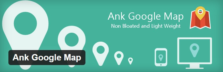 Ank Google Map WordPress Plugin.