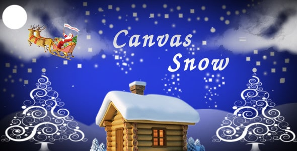Canvas Snow