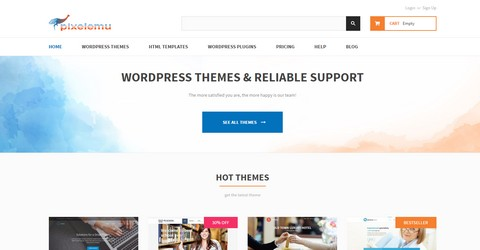 PixelEmu WordPress Themes
