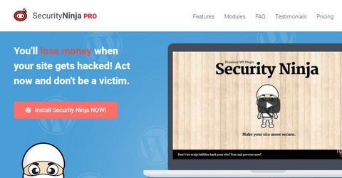 Security Ninja WordPress Plugin
