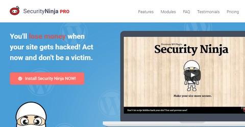 Security Ninja WordPress Plugin