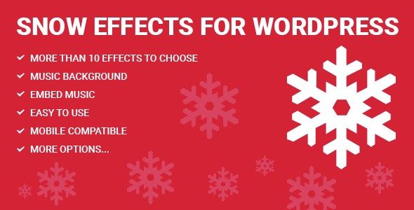 Snow Effects for WordPress