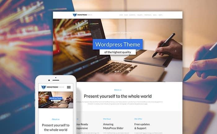 Your Top 10 Awe-inspiring Free & Premium WordPress Themes of 2017