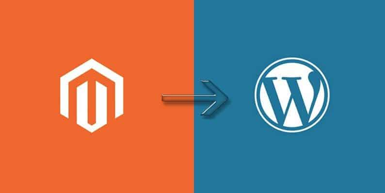 WordPress - Magento