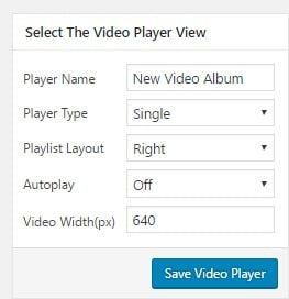 How to Create Your Online Video Player in WordPress