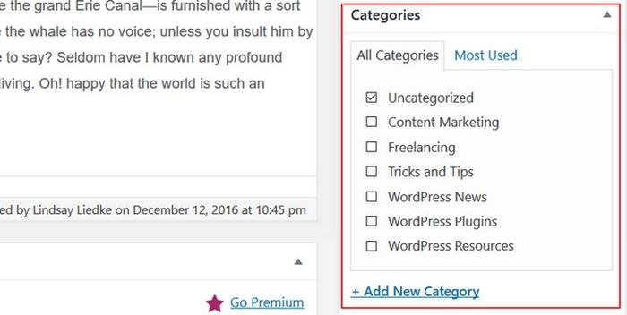 A Brief Look at WordPress Taxonomies