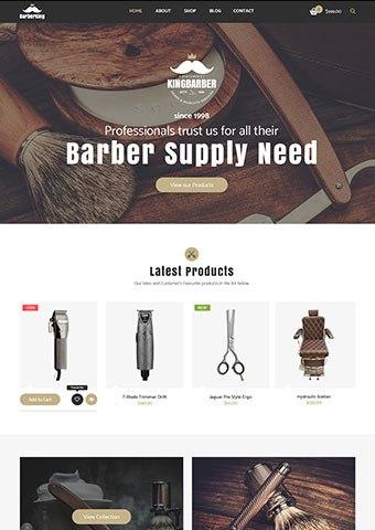 Barber Demo