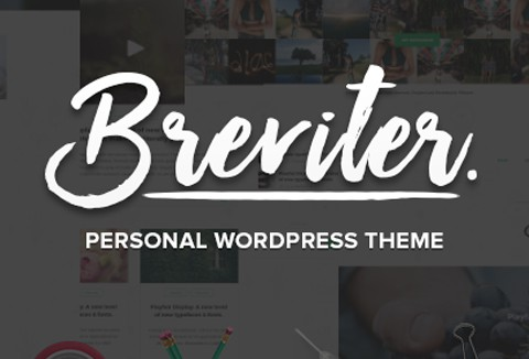 Breviter - Free Handcrafted WordPress Theme