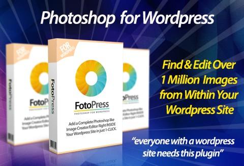 FotoPress – Best Photo & Image Editor WordPress Plugin