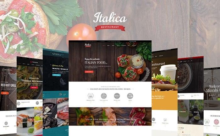 Shining Restaurant WordPress Theme