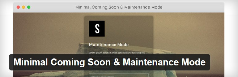 Simple and flexible Coming Soon & Maintenance Mode plugin.