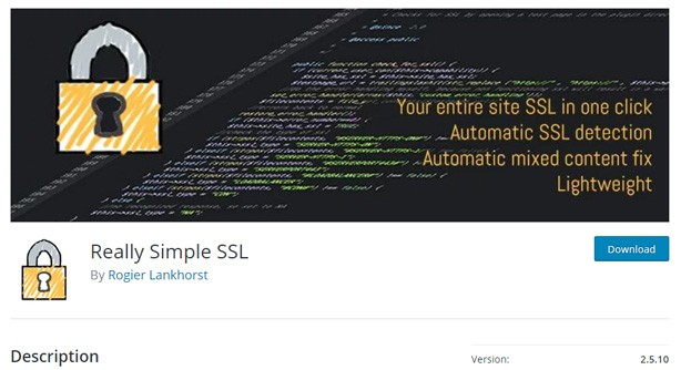 Really Simple SSL is a famous plugin in the WordPress repository.