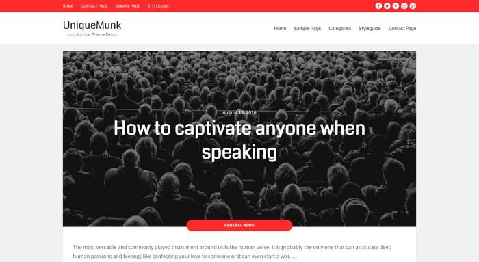 New Free WordPress Themes