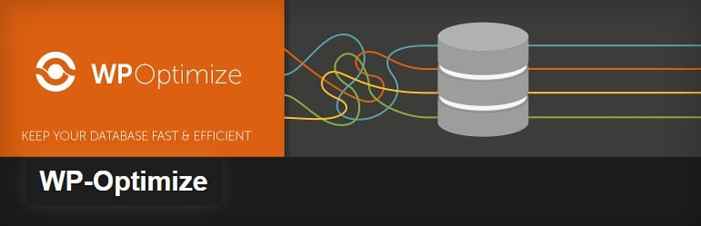 Clean up your database with WP Optimize
