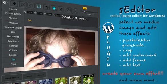 sEditor - WordPress image editor