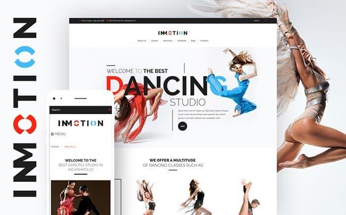 Dance Motion WordPress Theme