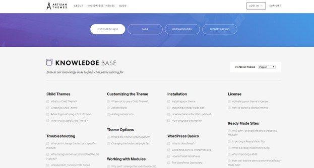 Pepper: An Interesting Free Modular WordPress Theme