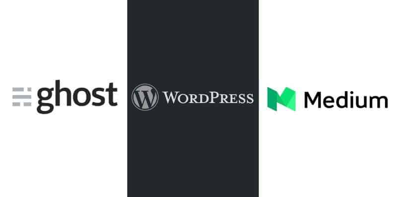 Medium, WordPress or Ghost?