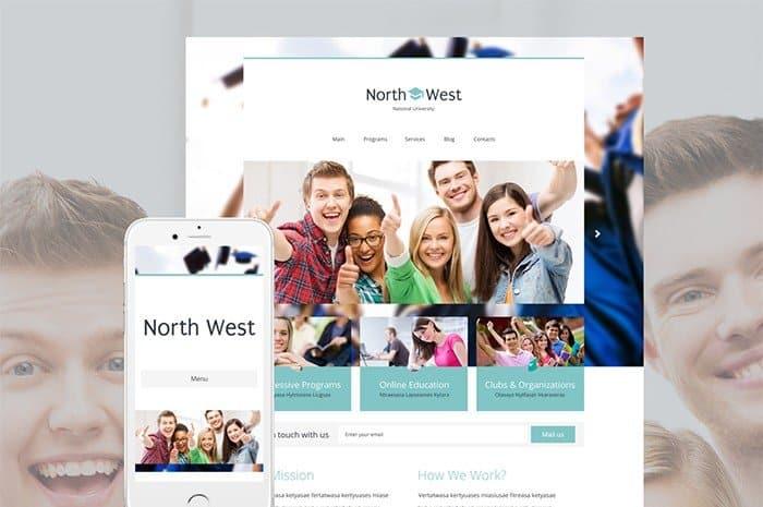 WordPress Theme for University