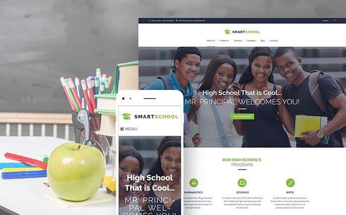 Smart School WordPress Theme
