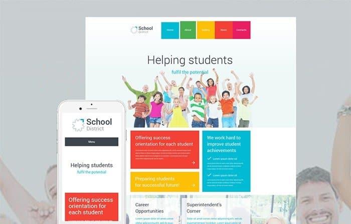 Students Organization WordPress Theme