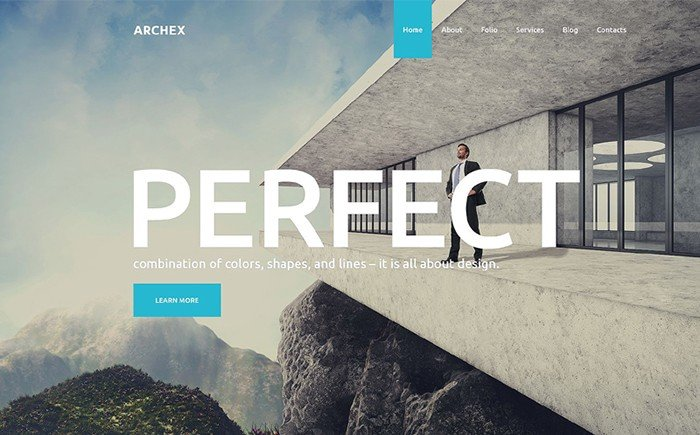 Archex - Architectural WordPress Theme