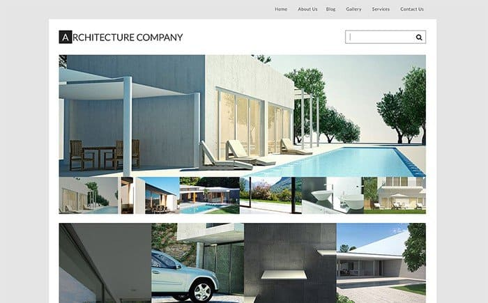 Architecture Company WordPress Theme