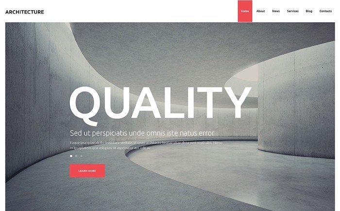 Architecture Design Studio WordPress Theme