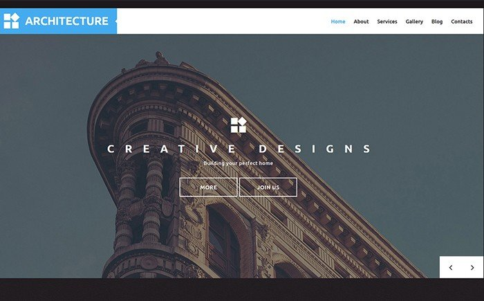 Architecture - Building Company WordPress Template