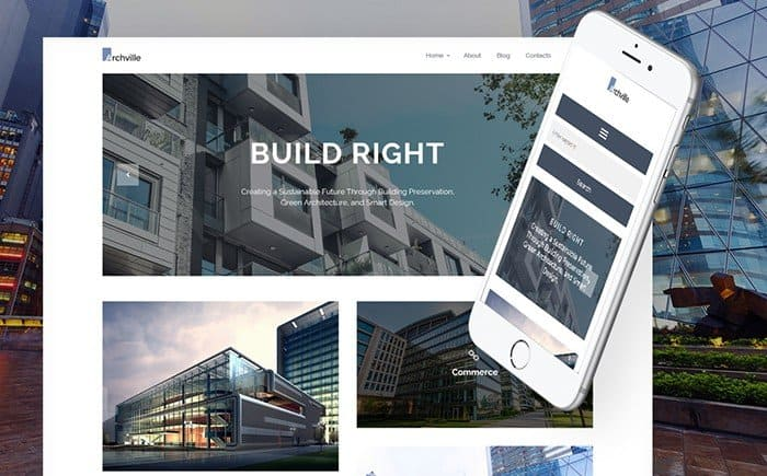 Archville - Architecture Portfolio WordPress Template