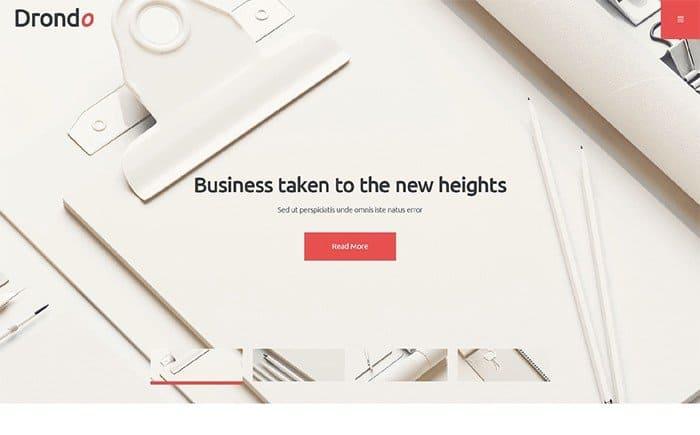 Drondo Business Services WordPress Theme