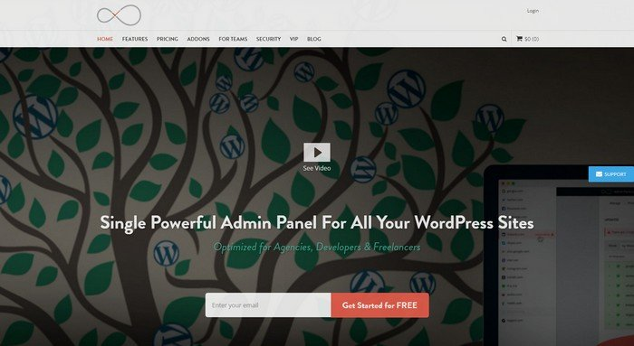 Single Powerful Admin Panel For All Your WordPress Sites