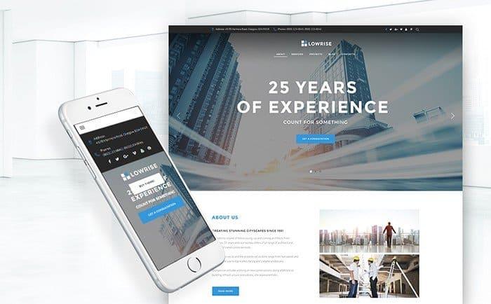 Lowrise - Architect Agency WordPress Theme