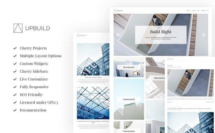 Upbuild - Architecture Firm WordPress Theme