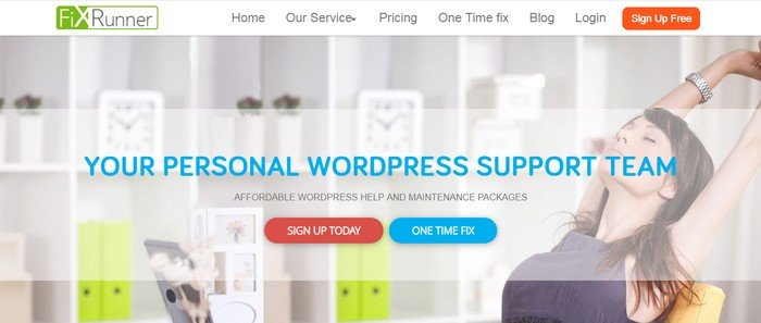 FixRunner is there to help you with hacks, themes, and plugins, backups and speed optimize your WordPress website.