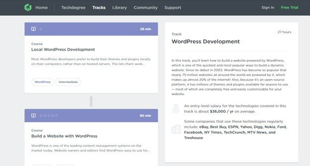 TreeHouse is a well-known online learning source that is aimed at designers and coders.