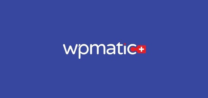 WPMatic does everything from A to Z when it comes to WordPress.