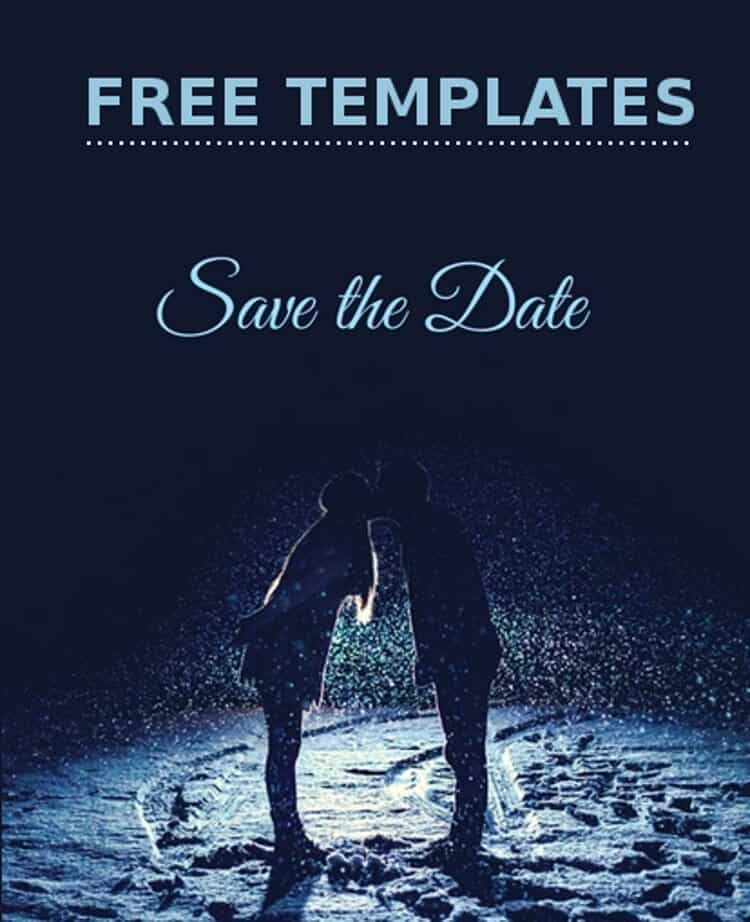 Save The Date Card Editable Templates For Free