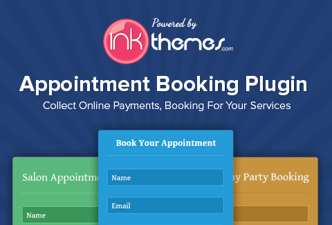 InkAppointment – Online Appointment Booking WP Plugin