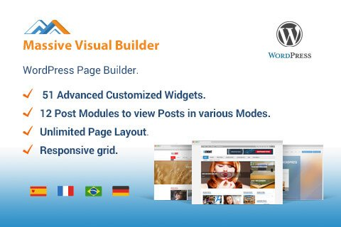 Super-Fast Visual Page Builder for WordPress
