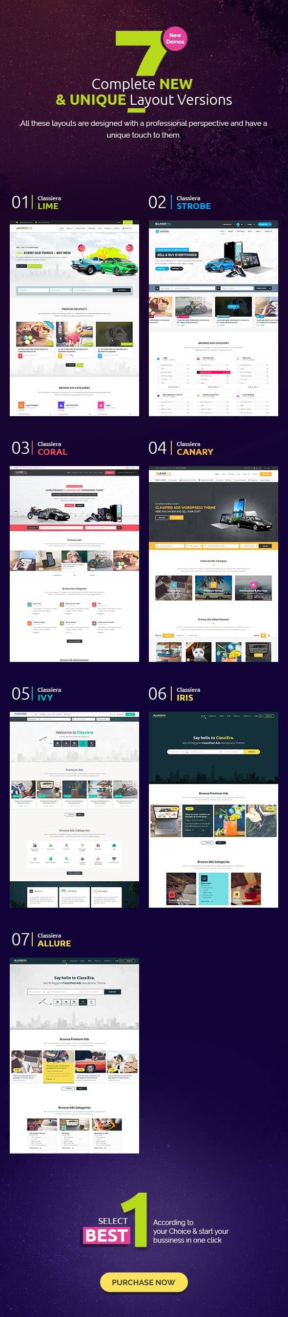 7 Outstanding Layout Versions