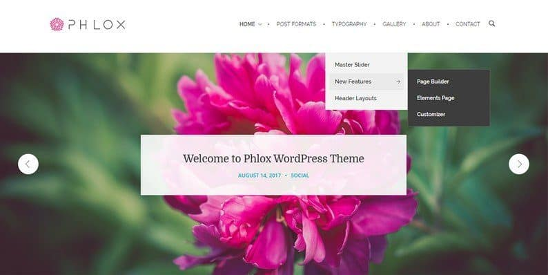 Phlox WordPress Theme