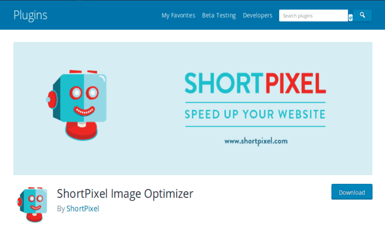 ShortPixel Image Optimizer automatically optimizes the uploaded images.