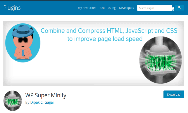 WP Super Minify combines, minifies, and caches inline JavaScript.