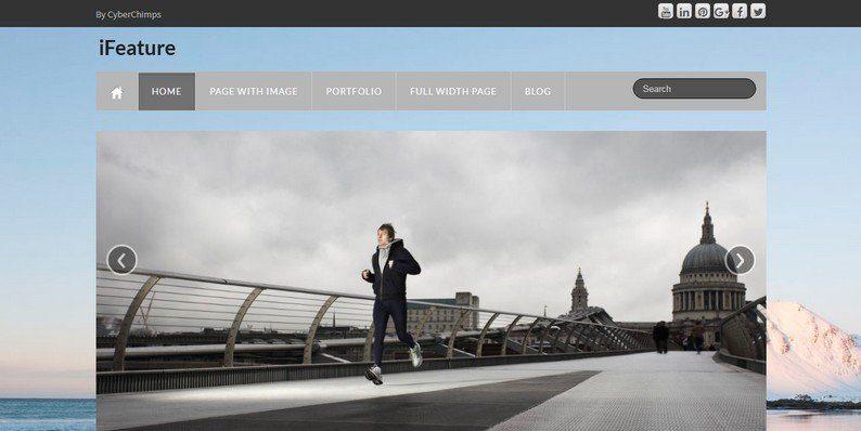 iFeature - Free Responsive and Multi-Purpose WordPress Theme